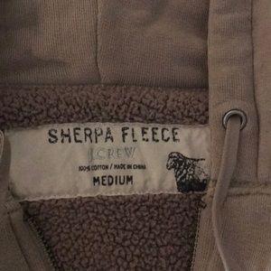 J.Crew Sherpa Fleece